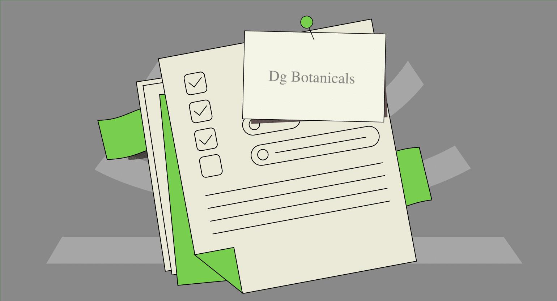 DG Botanicals Vendor Review